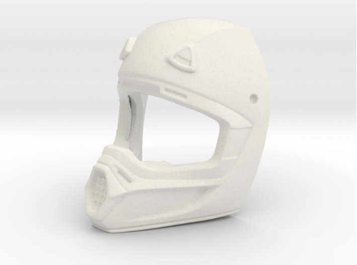 WW10003 Wild Willy Moto Helmet - Front 3d printed