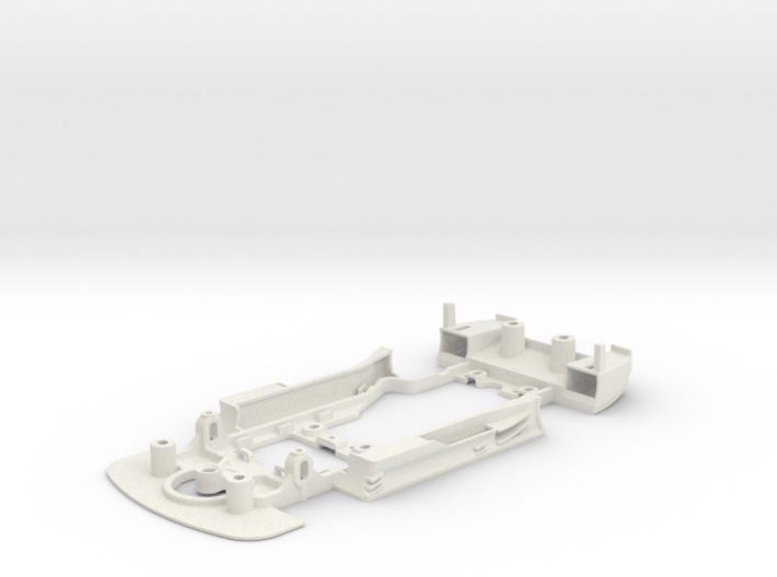 S03-ST4 Chassis for Carrera Merc. DTM SSD/STD 3d printed