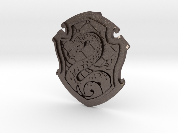 Slytherin Pendant SMALL - without H 3d printed