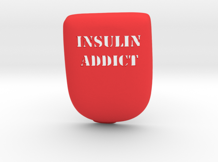 Insulin Addict Omnipod Case 3d printed