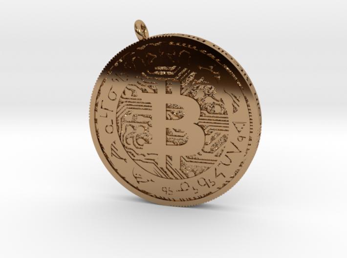 Bitcoin 1 3d printed