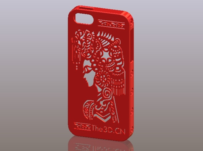 iPhone5_The Chinese Style--Traditional Opera 01 3d printed