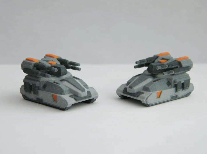"""""""Kane"""" MBT 10mm (Available in color!) 3d printed Product only comes with 1 vehicle."""