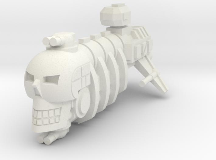 Skull Pirate 3d printed