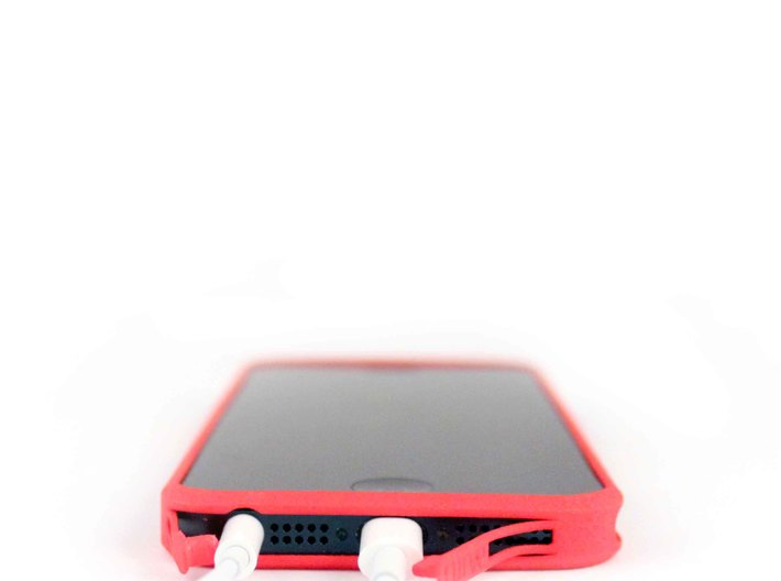 Brute with plugs for iPhone 5 3d printed