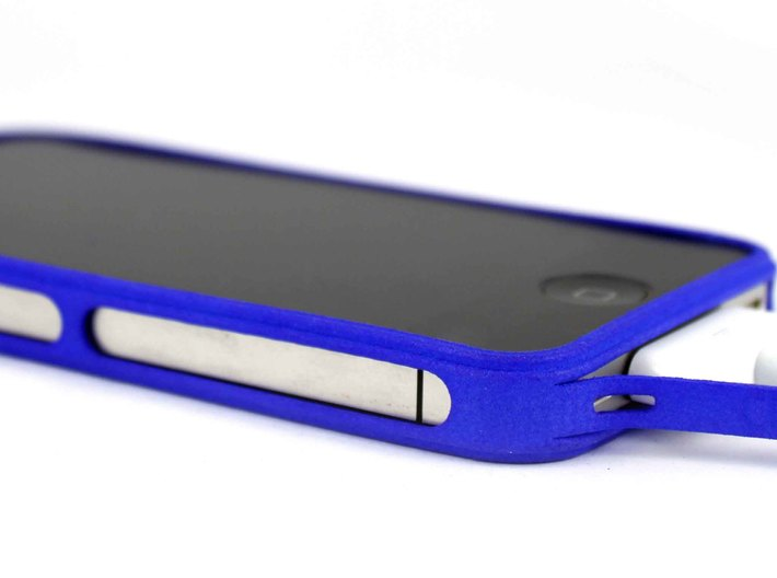 Brute with plugs for iPhone 4 3d printed