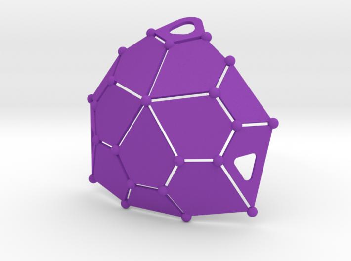 Bikini Plate (Polyhedron Cup Shape) 3d printed