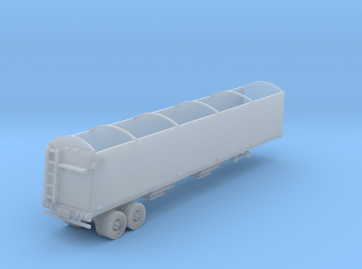 Grain Trailer N Scale 3d printed