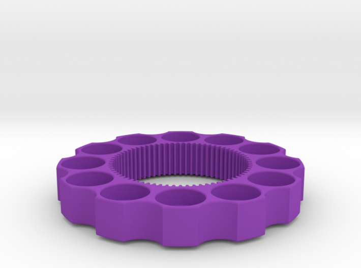 TriCyclone Vape Stand: Outter Ring 3d printed