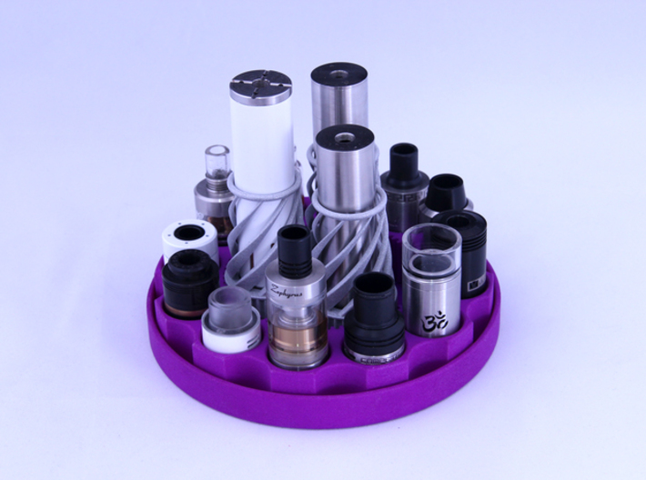 TriCyclone Vape Stand: Three Cyclones 3d printed Fully Built and Stocked