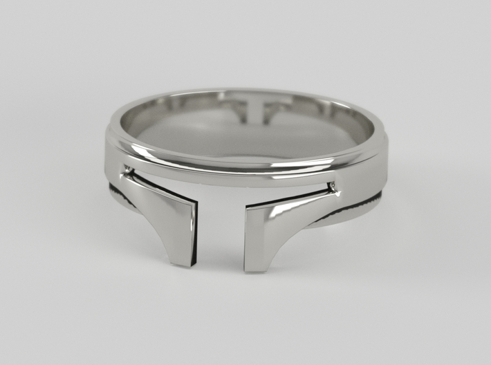 Bounty Hunter ring size 8 3d printed