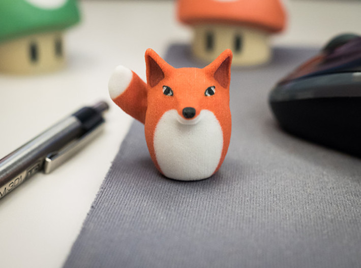 Tiny Foxtato Believes in You! 3d printed