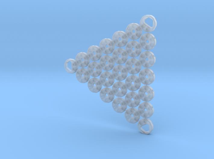 3D Fabric Test Sample 8 3d printed
