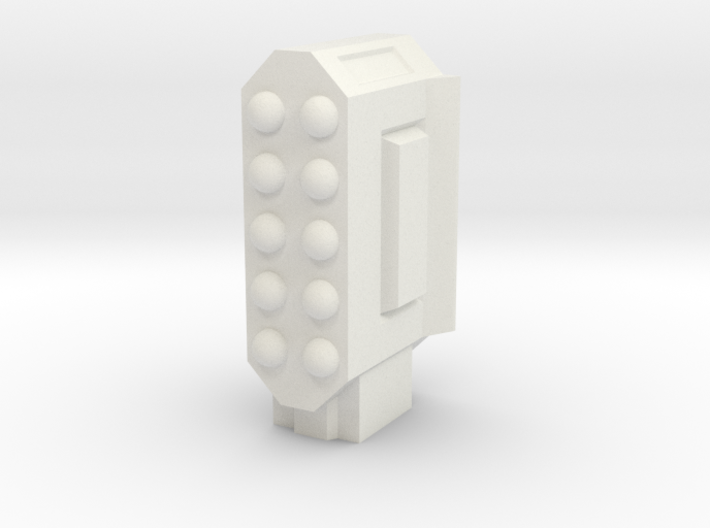 Missile Pod - Rectangular Vertical 3d printed