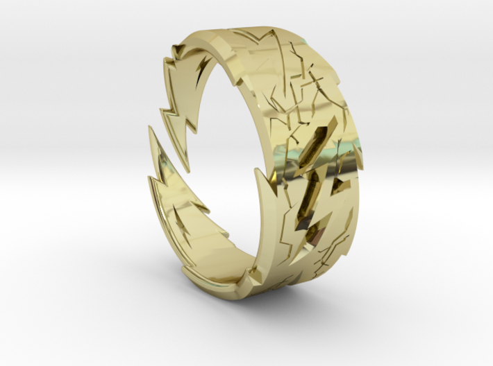 Power : Zeus Ring Size 12 3d printed