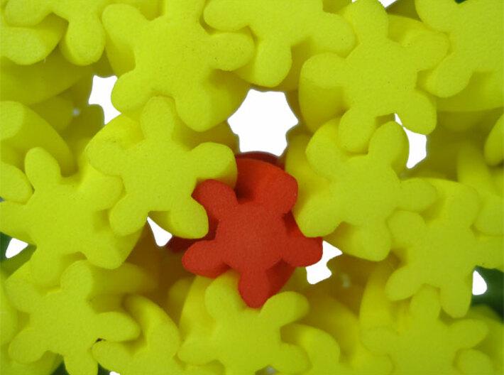 Flower Gears 3d printed