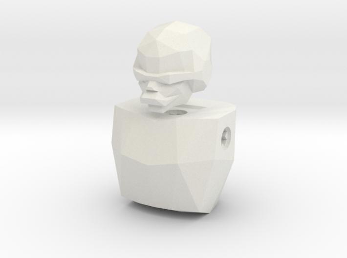 LoveLego: Gindra. 3d printed White Strong & Flexible