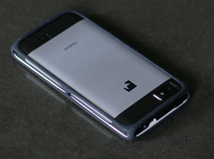 Fairphone Bumper in Black  3d printed
