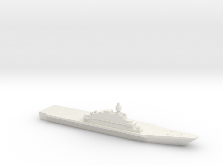 Project 11780 LHD, 1/3000 3d printed