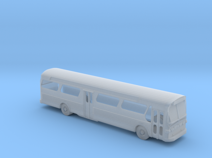 GM FishBowl Bus Open Windows - Nscale 3d printed
