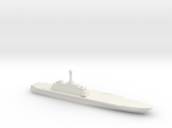 Project 10200 Helicopter Carrier, 1/1800 3d printed