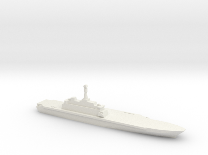 Project 10200 Helicopter Carrier, 1/3000 3d printed