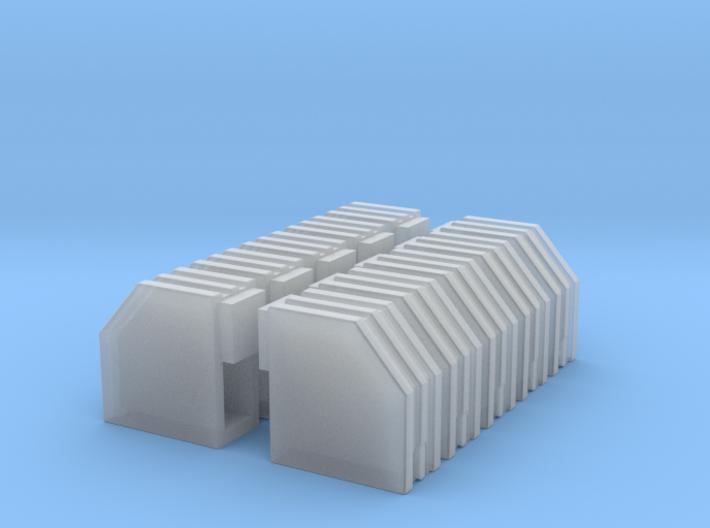 1/87 Aroc. Batteriekasten 10er 3d printed