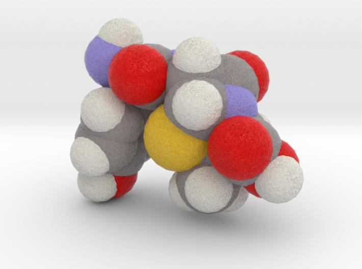 amoxicillin_space_fill 3d printed