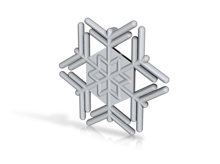 Snowflakes Series III: No. 14 3d printed