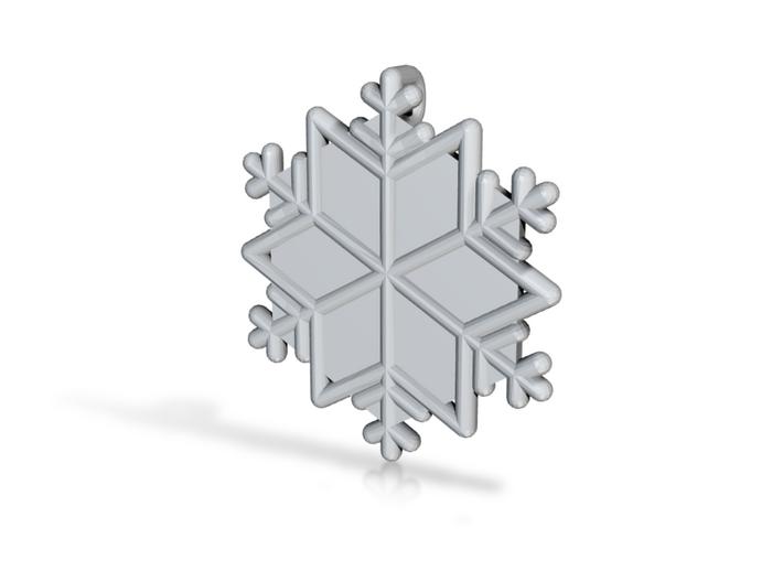 Snowflakes Series III: No. 15 3d printed