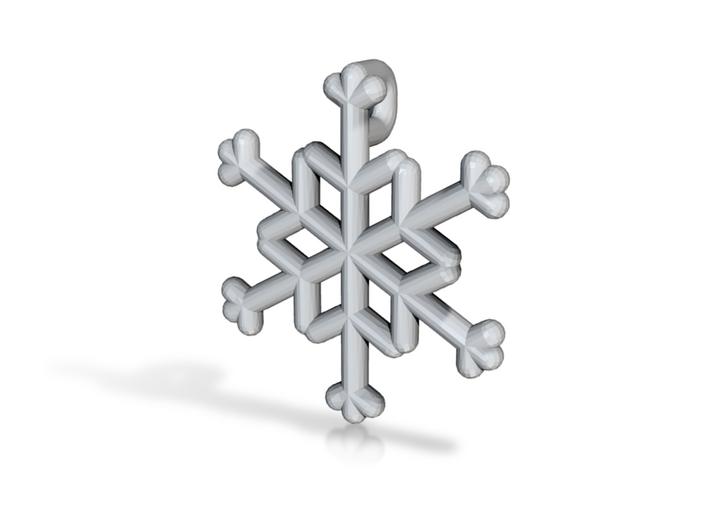 Snowflakes Series III: No. 21 3d printed