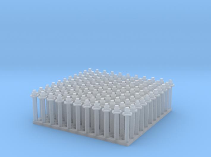 "1:24 Hex Nut-Bolt-Washer Set (Size: 0.75"") 3d printed"
