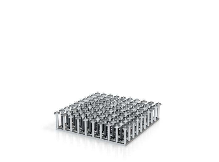 "1:24 Nut-Bolt-Timber Washer Set (Size: 0.375"") 3d printed"