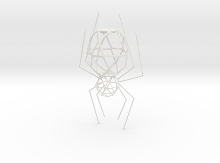 Spider Lamp 3d printed