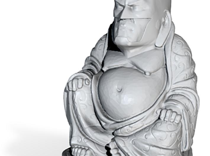 Batman Buddha 3d printed
