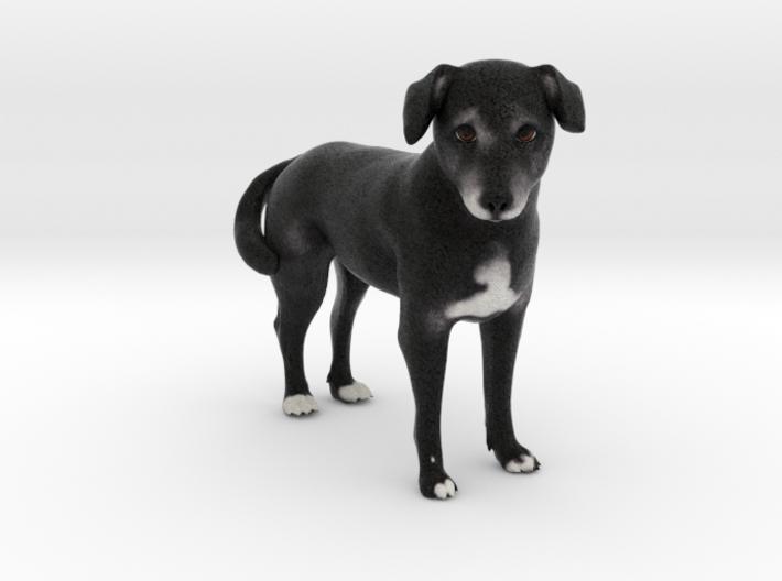 Custom Dog Figurine - Alexis 3d printed