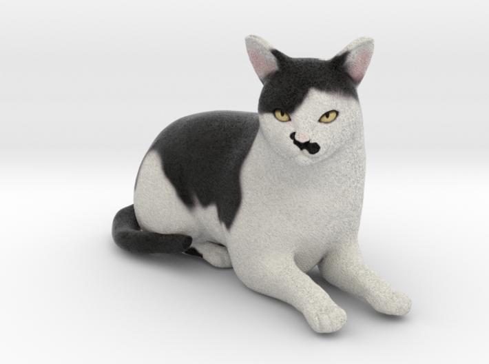 Custom Cat Figurine - Hitler 3d printed