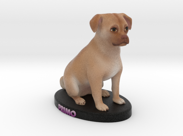 Custom Dog Figurine - Primo 3d printed