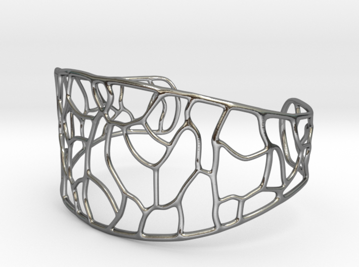 Bracelet abstract #3 3d printed
