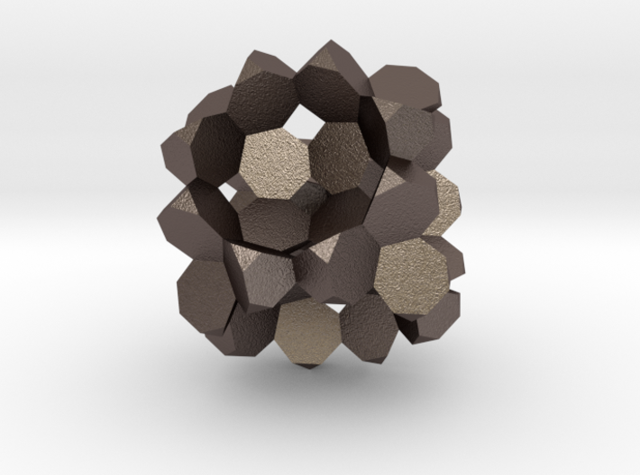 Heptagon-3D-Fill big 3d printed