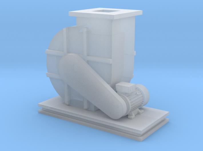 N Scale Blower 3d printed