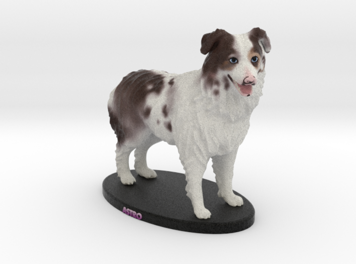 Custom Dog Figurine - Astro 3d printed