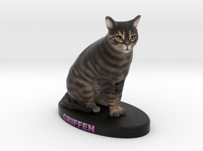 Custom Cat Figurine - Griffen 3d printed
