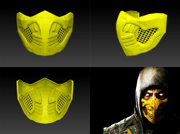 Scorpion Mask Mkx Wearable Pzumblecr By Atoroesp