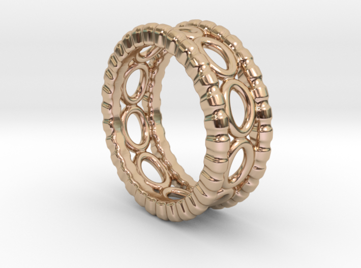 Ring Ring 24 - Italian Size 24 3d printed