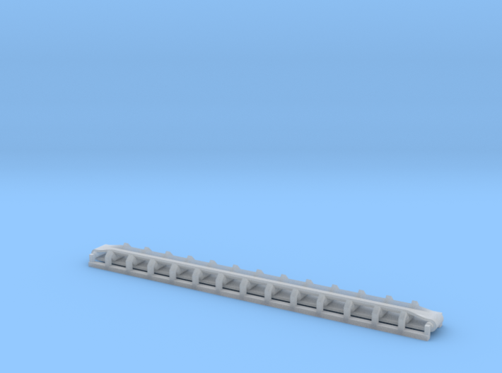 N Scale Trough Conveyor 80mm 3d printed