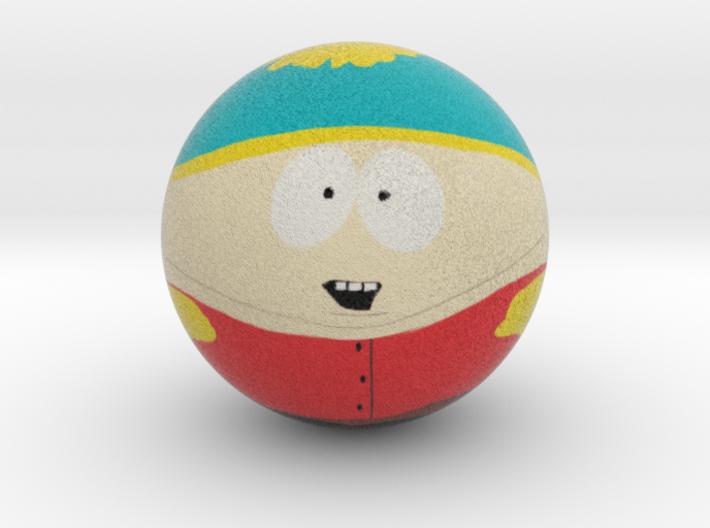 Cartman Marble Ball 3d printed