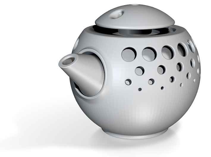 Teapot Double Wall 3d printed