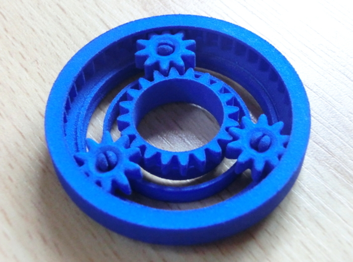 Planetary Gearing 3d printed Planetary Gearing