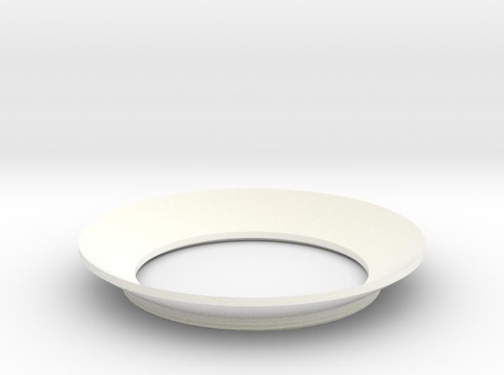 Lieberkühn Reflector 49mm lens diameter, f=20mm 3d printed